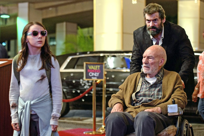 Hugh Jackman dong Logan anh 1