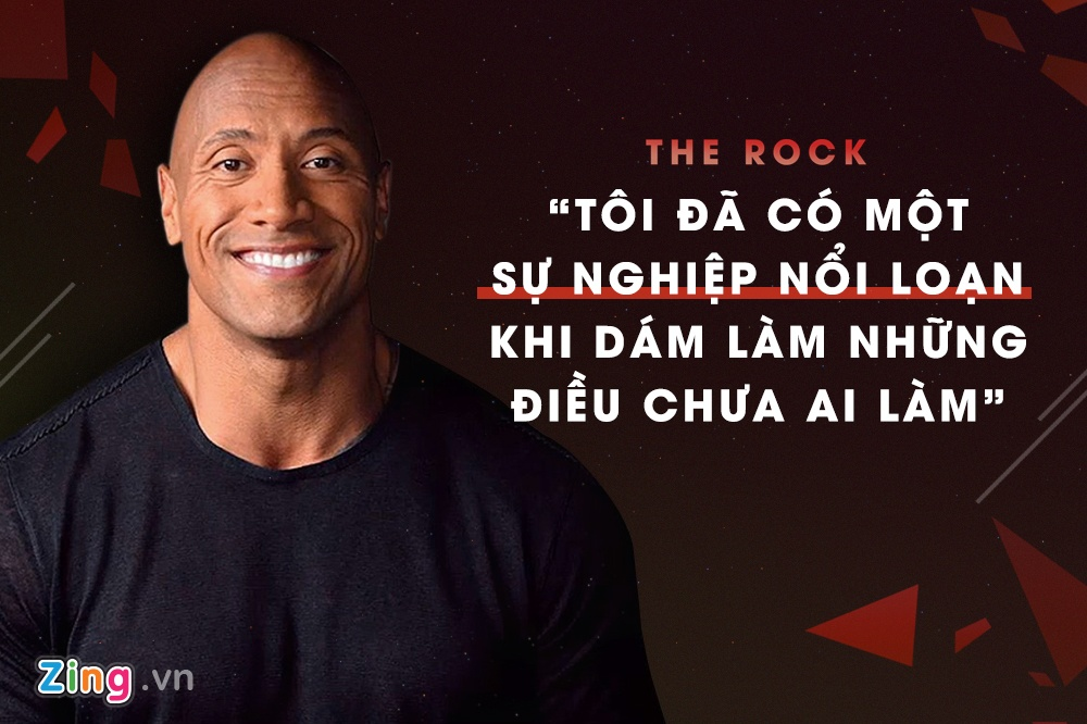 su nghiep The Rock Dwayne Johnson anh 4