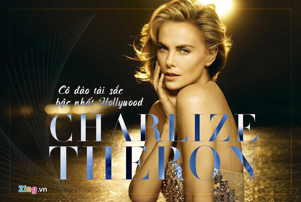 Charlize Theron: Da nu khien ca Hollywood nga mu than phuc hinh anh 1