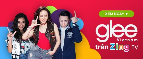 Angela Phuong Trinh va Rocker Nguyen hon say dam ngay tap 1 'Glee' hinh anh 5