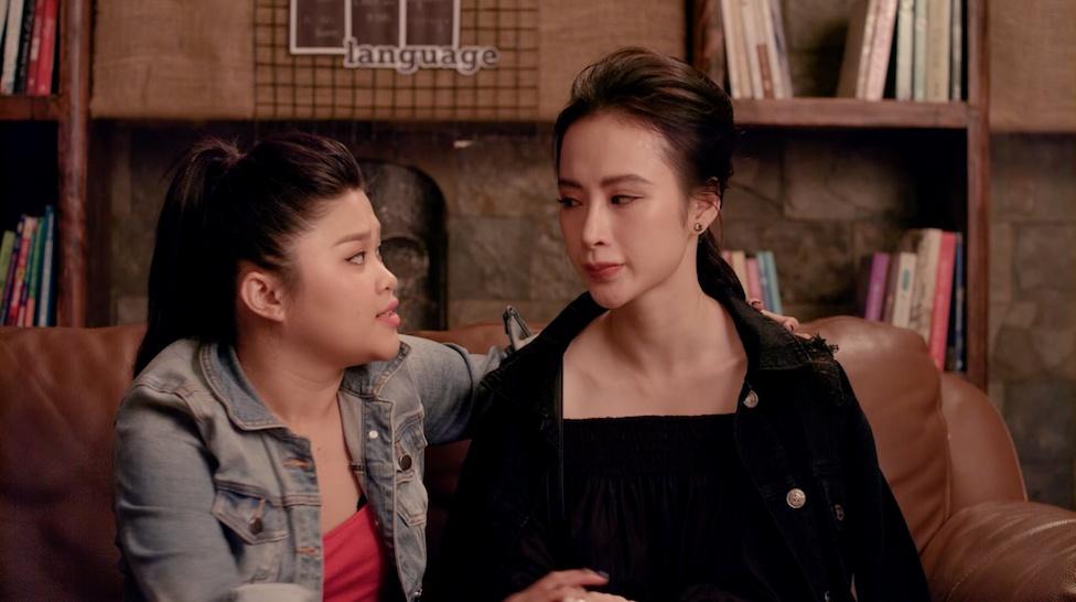 'Glee' tap 21: Angela Phuong Trinh bi duoi hoc vi chon Huu Vi hinh anh 4