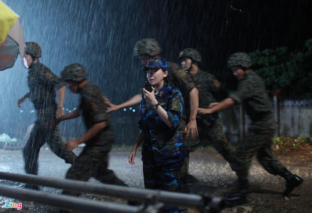 Kha Ngan, Song Luan tinh cam tren phim truong 'Hau due mat troi' hinh anh 8