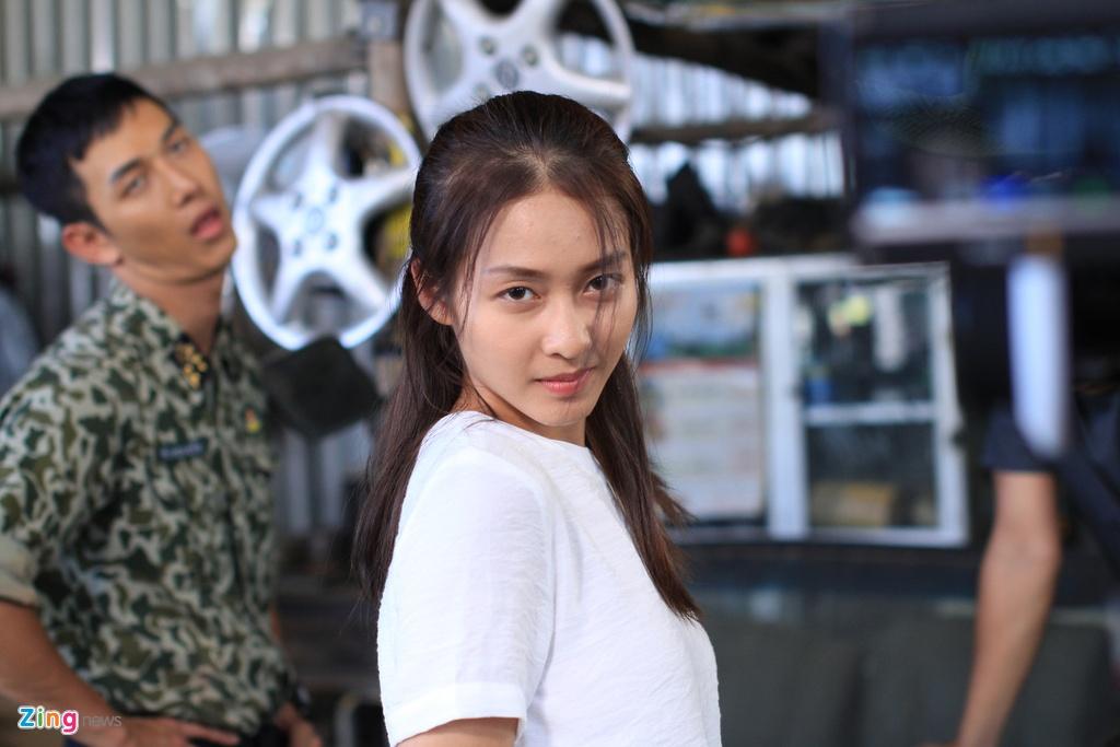 Kha Ngan, Song Luan tinh cam tren phim truong 'Hau due mat troi' hinh anh 1