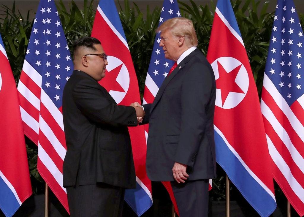 Thuong dinh Trump - Kim: Xep lai qua khu, noi ve tuong lai hinh anh 1