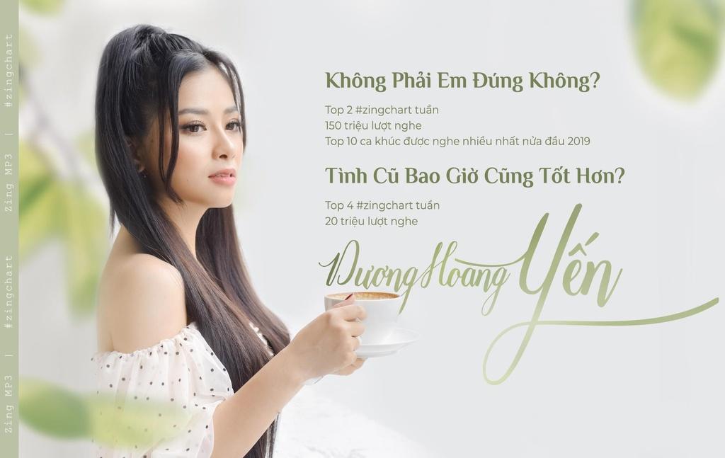 Duong Hoang Yen: 'Toi khong bat chuoc Huong Giang lam MV drama' hinh anh 1