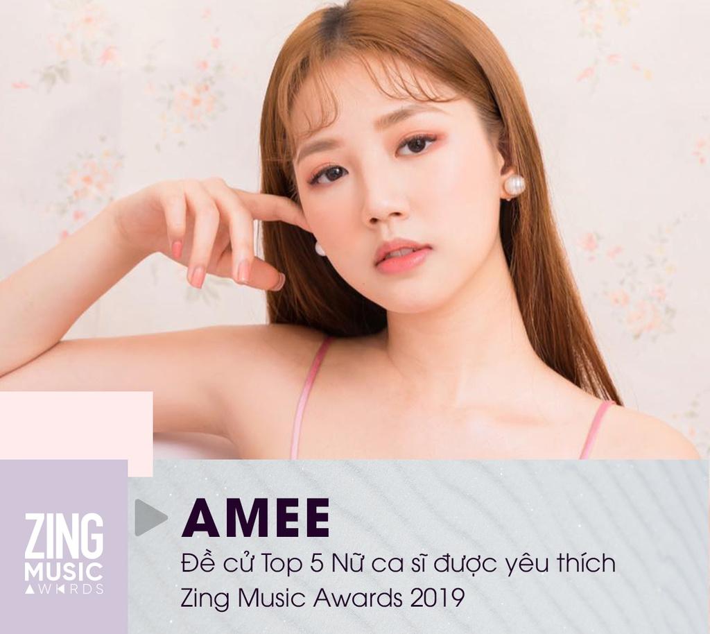 Huong Giang, AMEE va 5 nu ca si tai nang, ngoai hinh dep cua Vpop 2019 hinh anh 4 AMEE_1.jpg