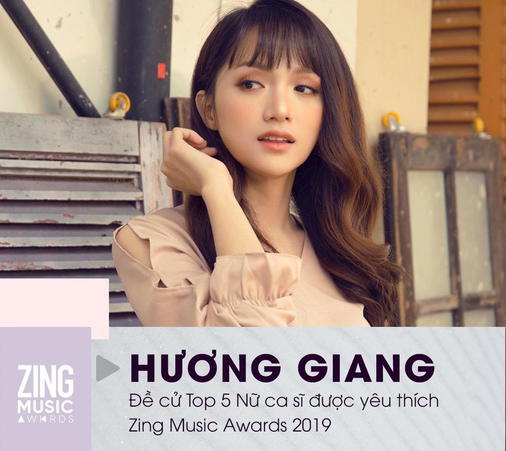 Huong Giang, AMEE va 5 nu ca si tai nang, ngoai hinh dep cua Vpop 2019 hinh anh 1 HUONG_GIANG.jpg