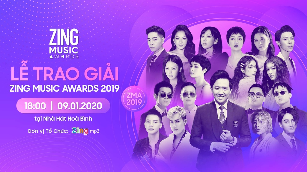 le trao giai zing music awards 2019 anh 1