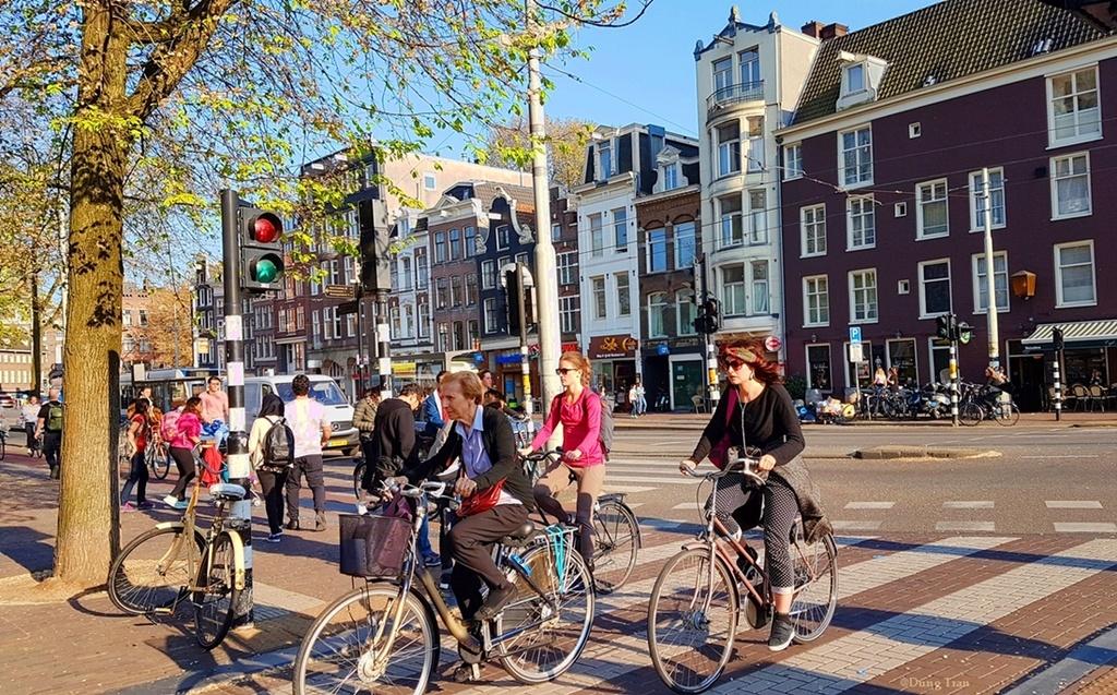Image result for hà lan đất nước xe đạp
