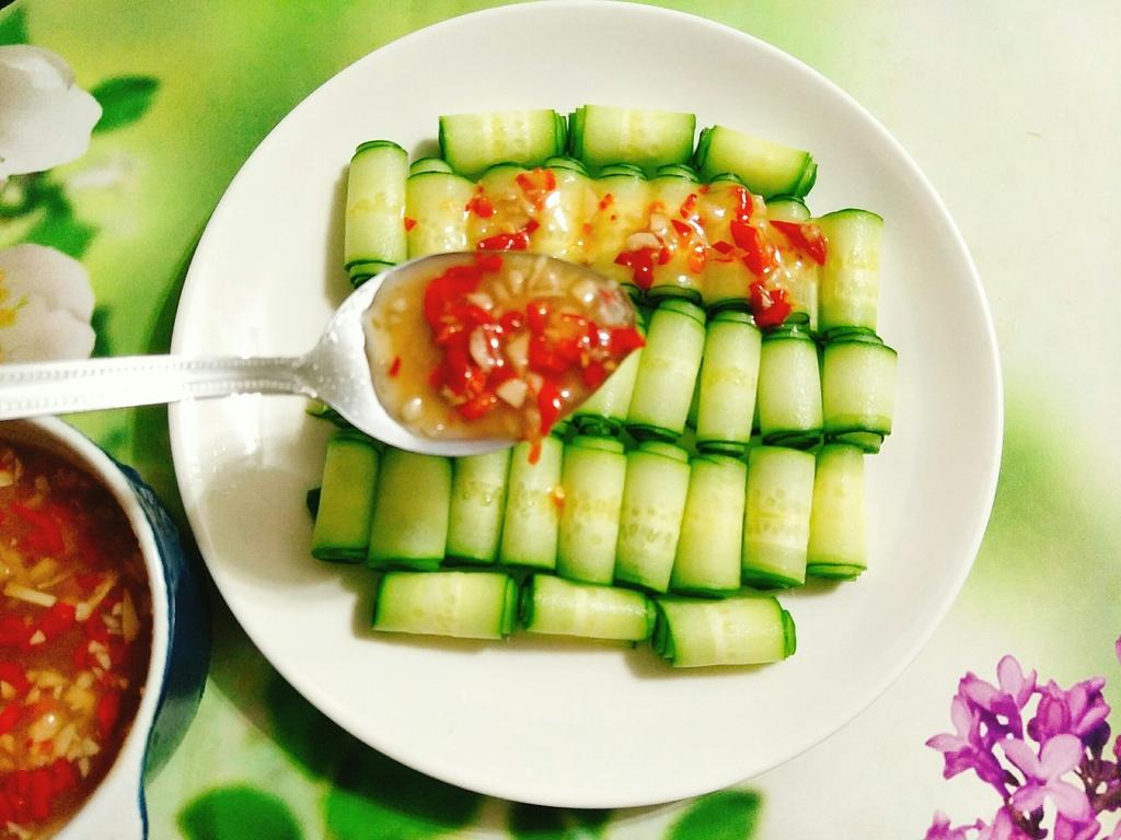 Cach lam salad dua leo chua cay anh 5