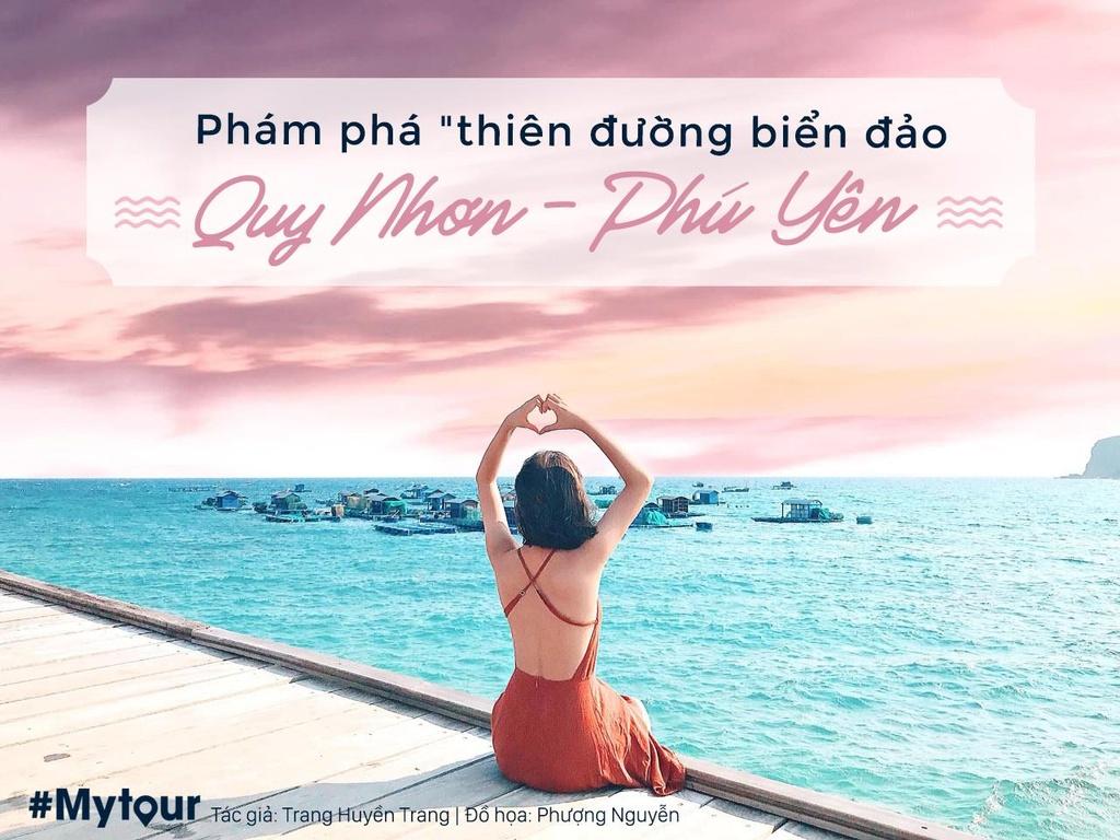 #Mytour: 5 trieu dong kham pha tron ven bien dao Quy Nhon - Phu Yen hinh anh 1