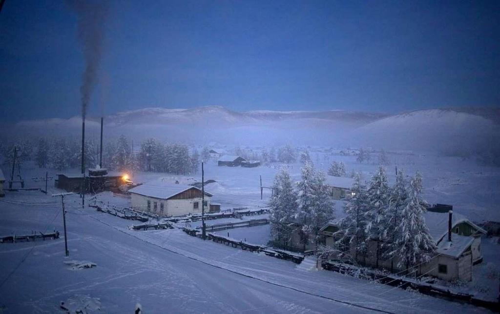 Ngôi làng lạnh nhất thế giới, nhiệt độ chạm âm 71 độ C - Ảnh 3