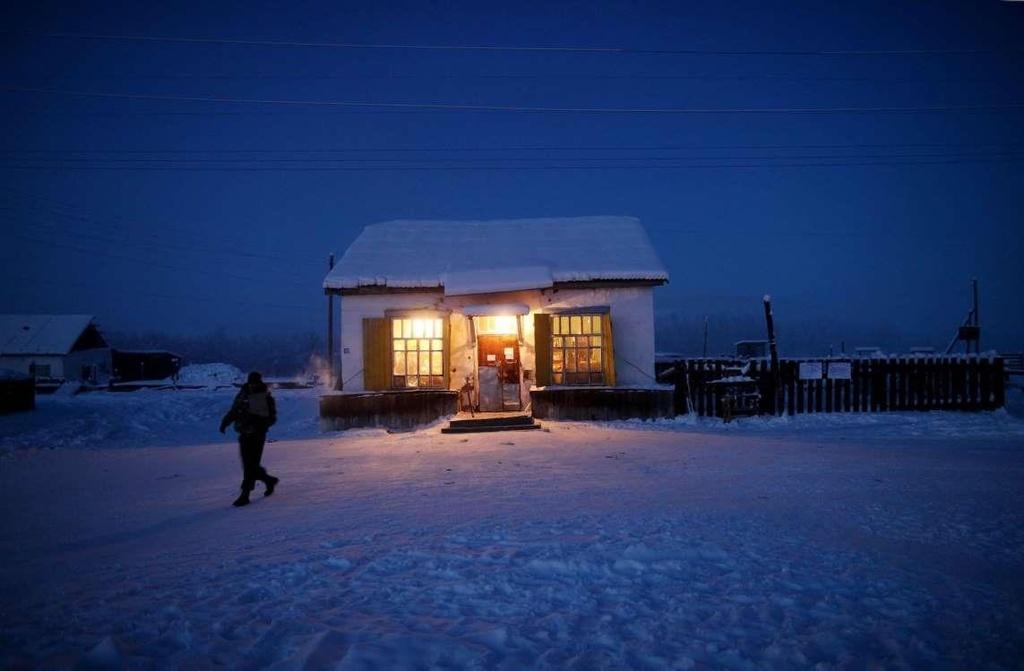 Ngôi làng lạnh nhất thế giới, nhiệt độ chạm âm 71 độ C - Ảnh 6