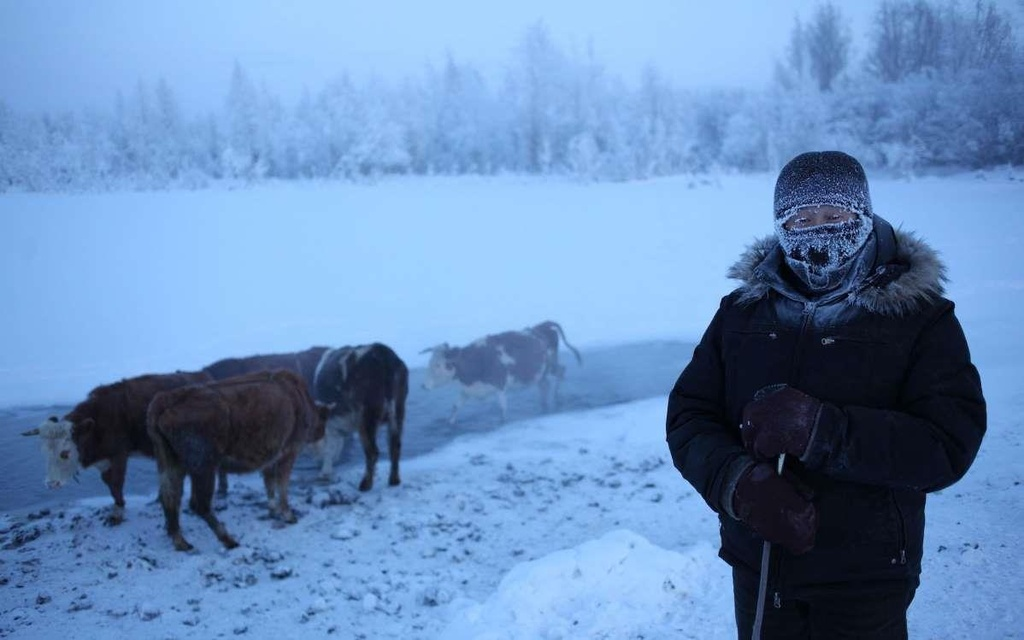 Ngôi làng lạnh nhất thế giới, nhiệt độ chạm âm 71 độ C - Ảnh 8