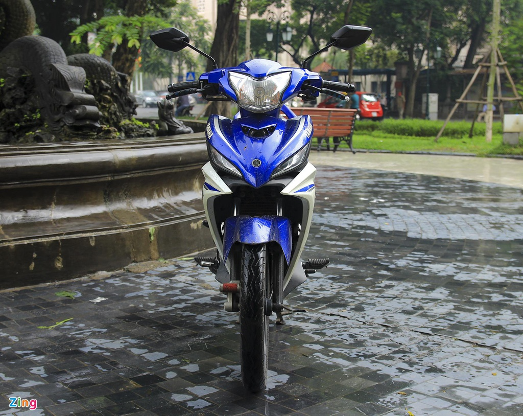 Yamaha,  Exciter 135,  xe con tay,  thi truong anh 1