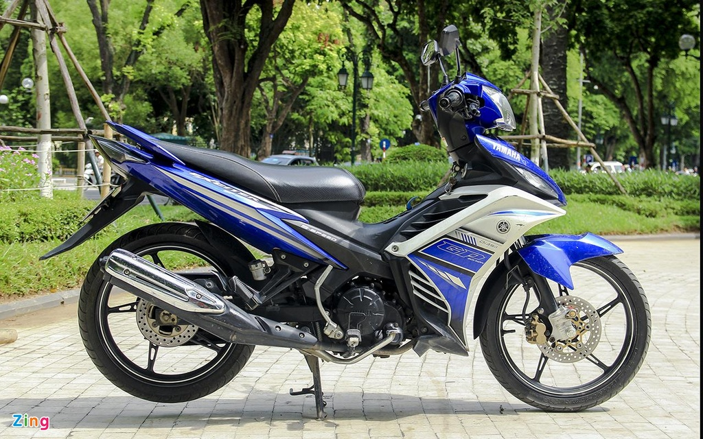 Yamaha,  Exciter 135,  xe con tay,  thi truong anh 2