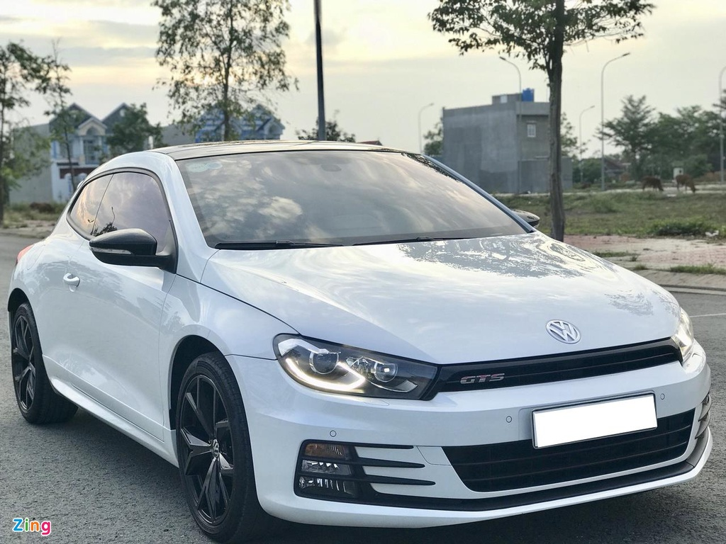 Volkswagen Scirocco GTS 2018 chay hon 10.000 km gia con 1,1 ty dong hinh anh 1