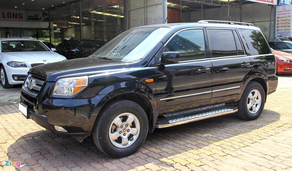 SUV 7 cho Honda Pilot 2007 gia 550 trieu co gi dac biet? hinh anh 2