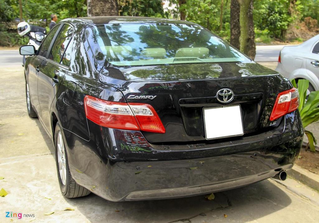 Toyota Camry LE doi 2008 nhap My, hon 10 nam gia van gan 600 trieu hinh anh 2