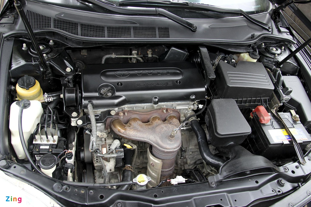 Toyota Camry LE doi 2008 nhap My, hon 10 nam gia van gan 600 trieu hinh anh 3