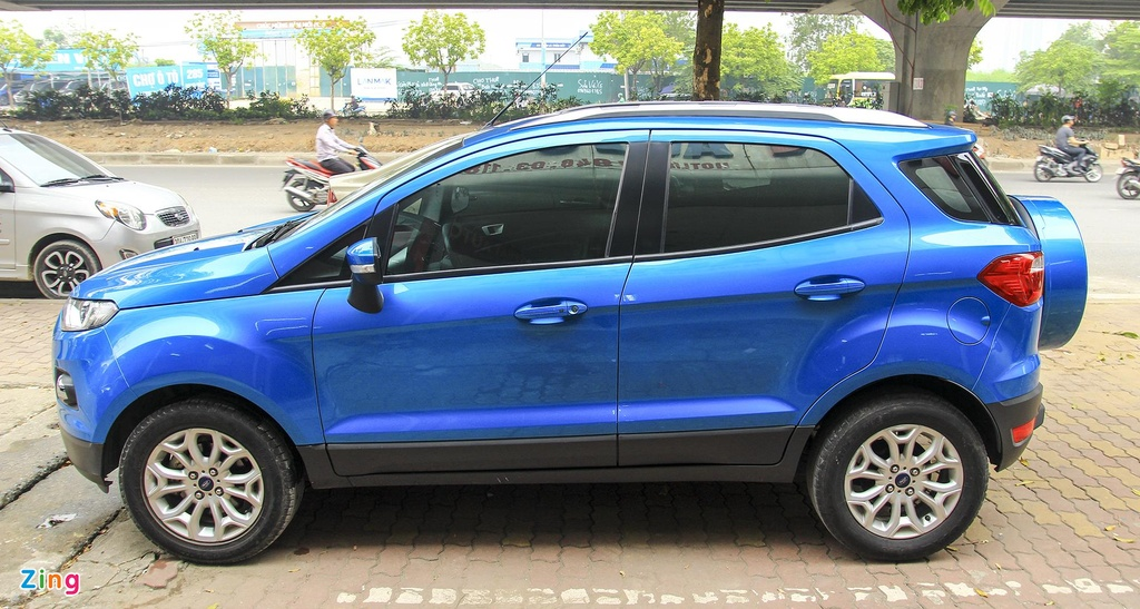 Ford,  EcoSport 2017,  thi truong,  xe cu anh 1