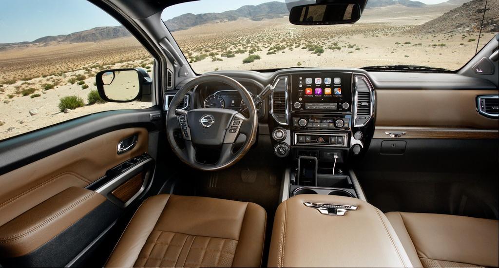 Ban tai Nissan Titan 2020 ra mat - hop so 9 cap, cong suat 400 ma luc hinh anh 5