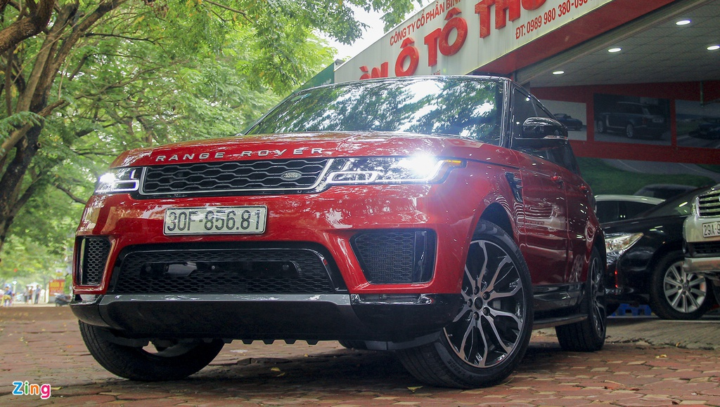 Range Rover Sport 2018,  Land Rover,  SUV,  xe sang anh 1