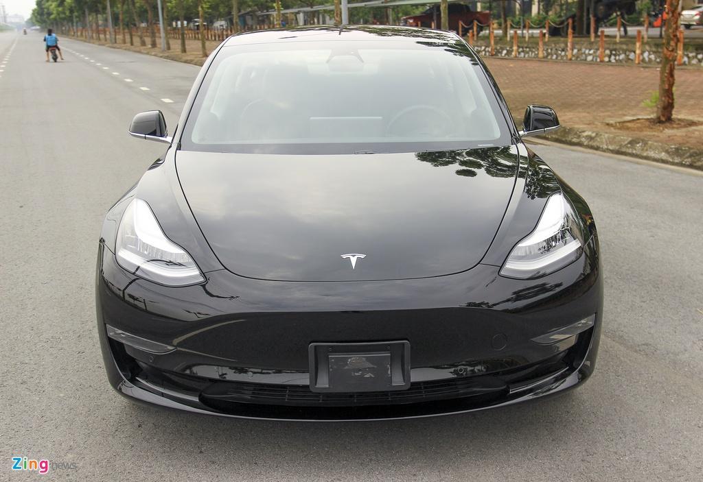 Xe dien Tesla Model 3 dau tien o Viet Nam hinh anh 6