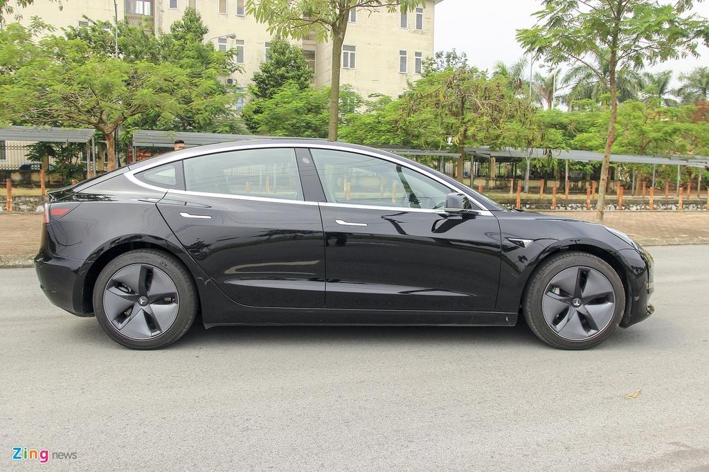 Xe dien Tesla Model 3 dau tien o Viet Nam hinh anh 7