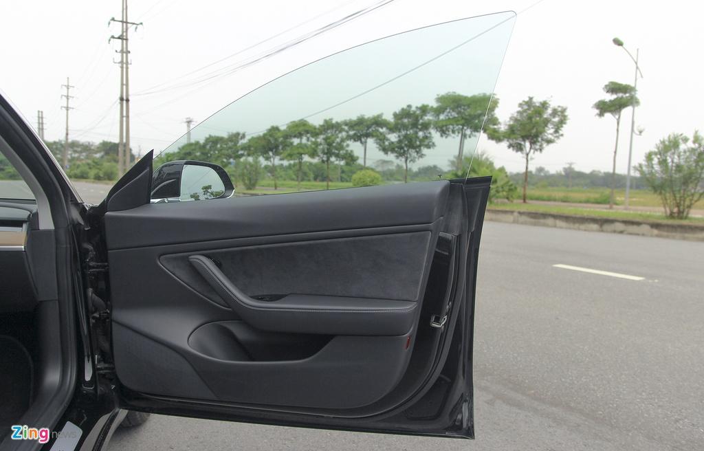 Xe dien Tesla Model 3 dau tien o Viet Nam hinh anh 13