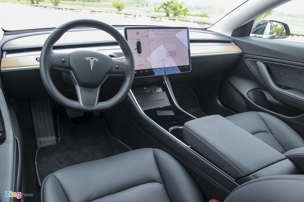 Xe dien Tesla Model 3 dau tien o Viet Nam hinh anh 26