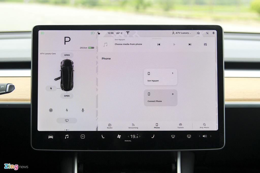 Xe dien Tesla Model 3 dau tien o Viet Nam hinh anh 21