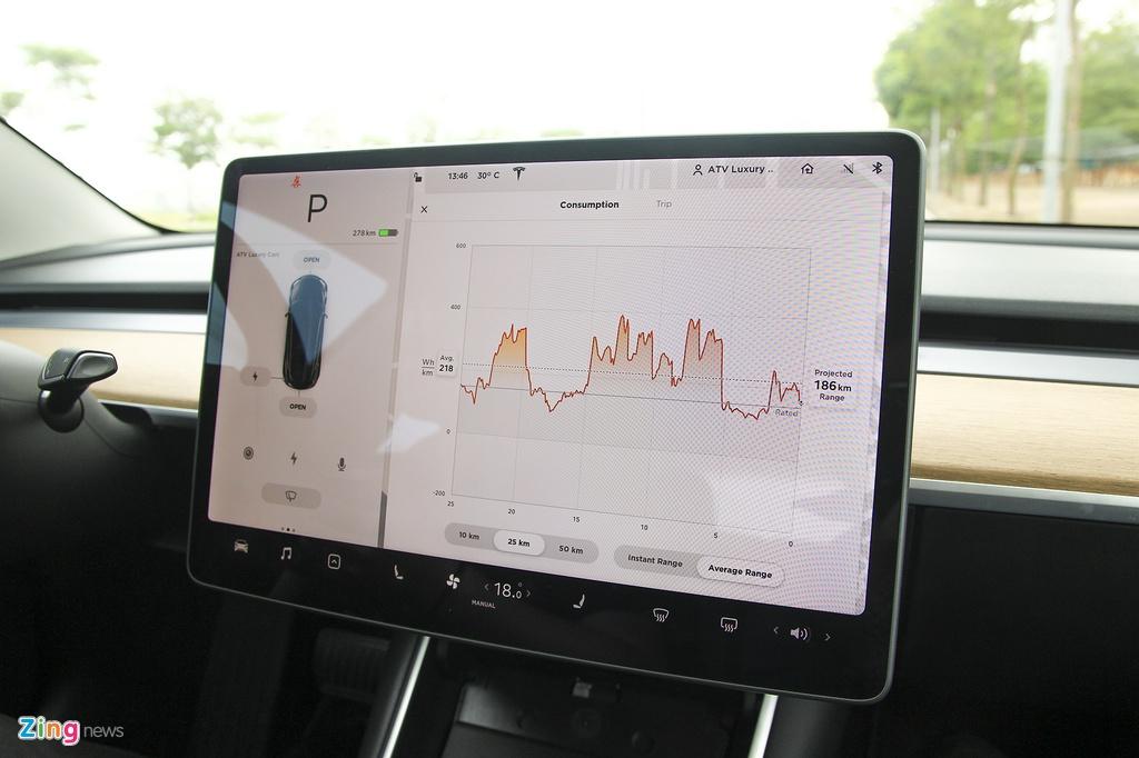 Xe dien Tesla Model 3 dau tien o Viet Nam hinh anh 27
