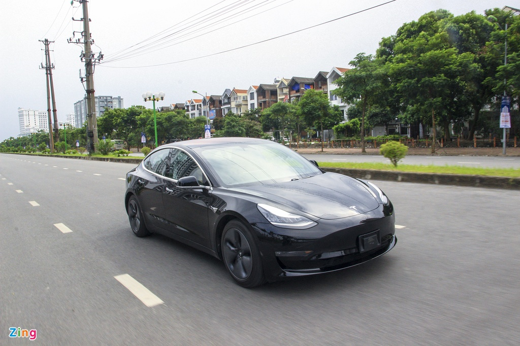 Xe dien Tesla Model 3 dau tien o Viet Nam hinh anh 12