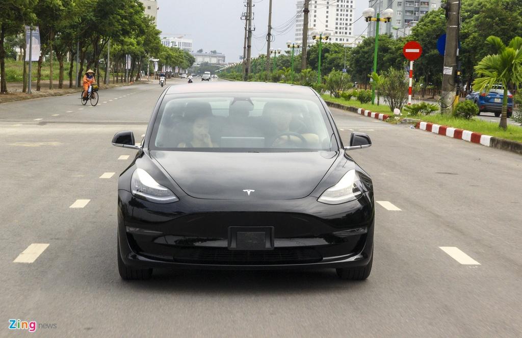 Xe dien Tesla Model 3 dau tien o Viet Nam hinh anh 16