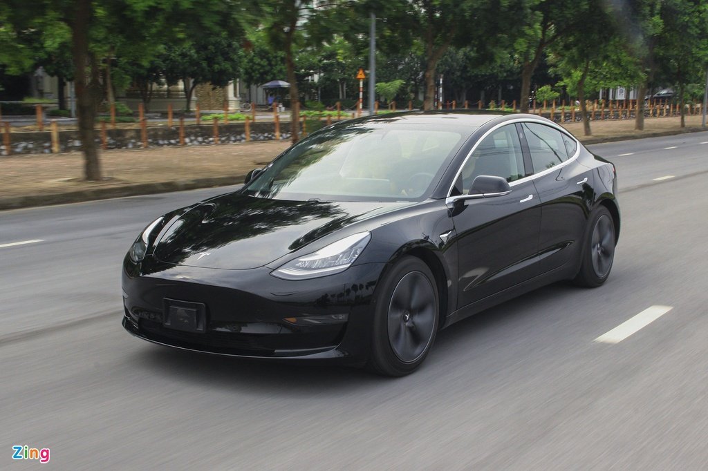 Xe dien Tesla Model 3 dau tien o Viet Nam hinh anh 18