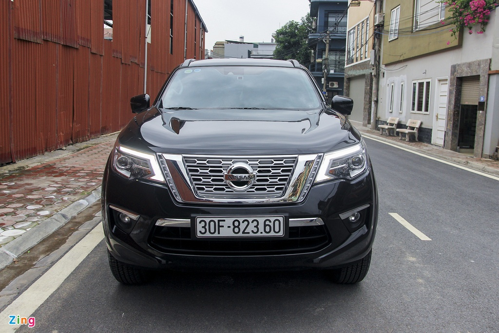 Nissan Terra 2019 chay luot hon 2.000 km, gia con 1,1 ty dong hinh anh 2
