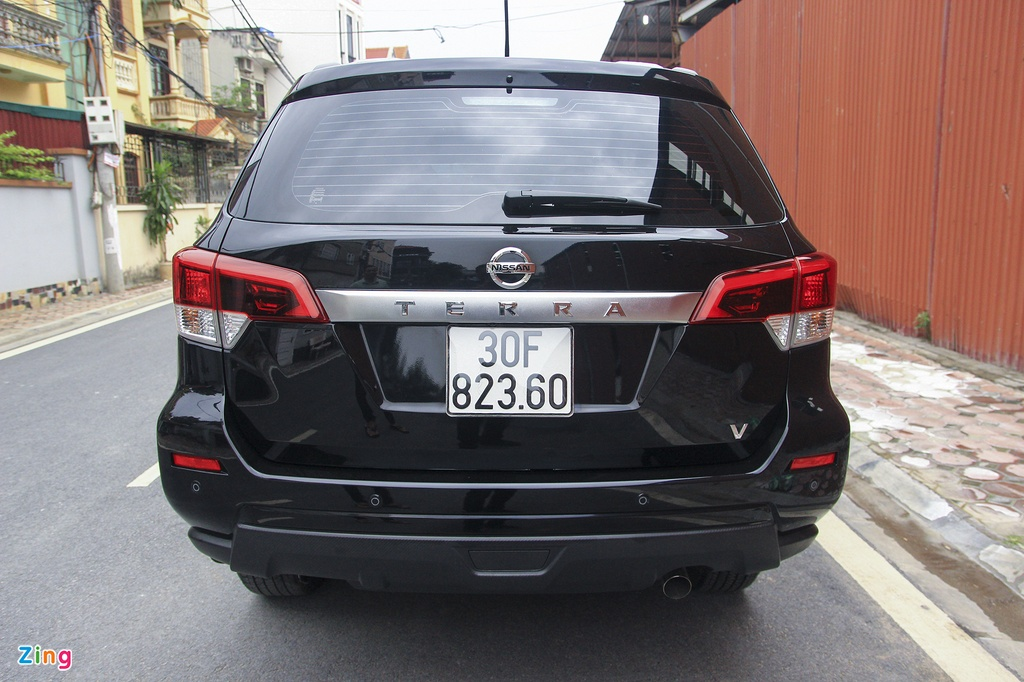 Nissan Terra 2019 chay luot hon 2.000 km, gia con 1,1 ty dong hinh anh 7