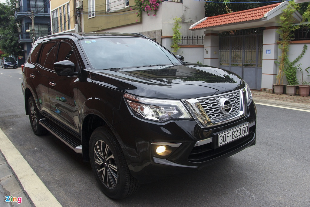 Nissan Terra 2019 chay luot hon 2.000 km, gia con 1,1 ty dong hinh anh 1
