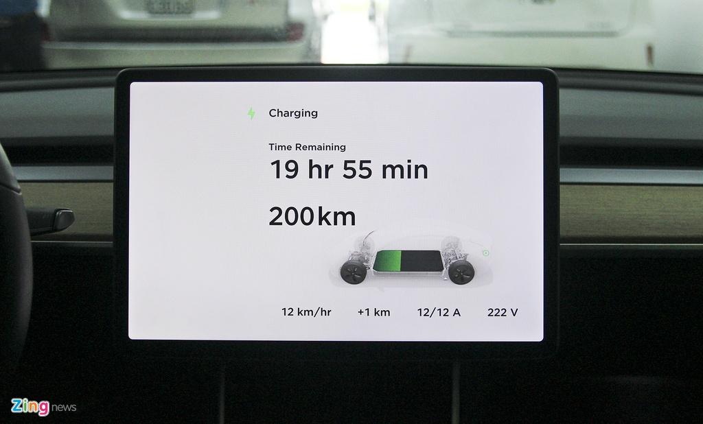 Xe dien Tesla Model 3 dau tien o Viet Nam hinh anh 23