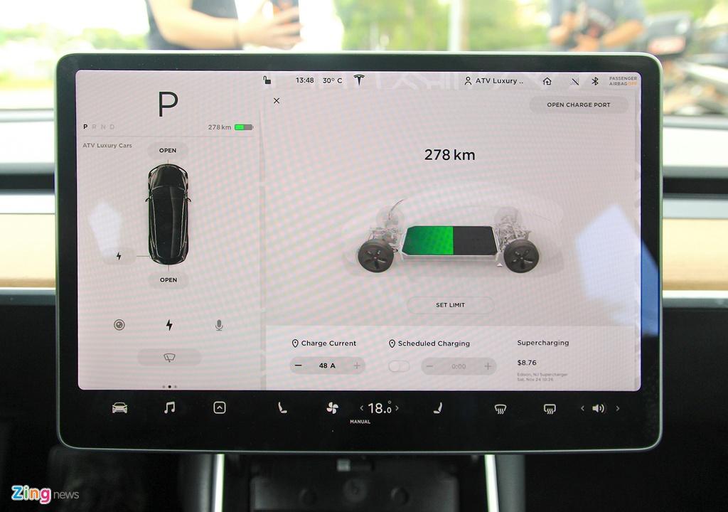 Xe dien Tesla Model 3 dau tien o Viet Nam hinh anh 22
