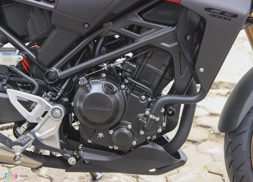 Can canh moto Honda CB300R 2019 dau tien ve dai ly hinh anh 11