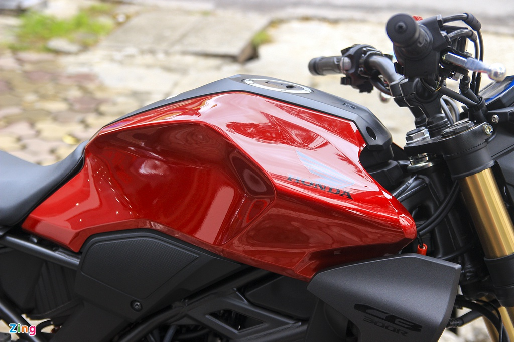 Can canh moto Honda CB300R 2019 dau tien ve dai ly hinh anh 10