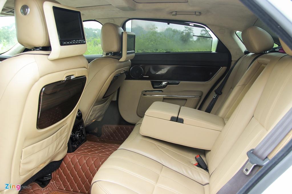 Jaguar,  XJL,  sedan hang sang,  xe cu anh 9