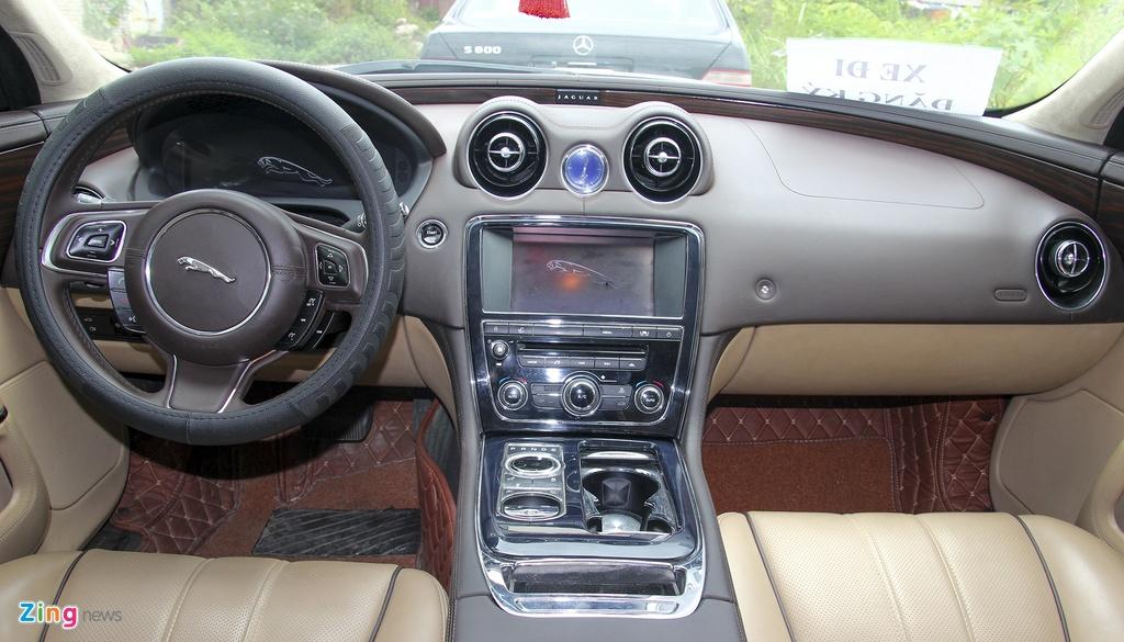 Jaguar,  XJL,  sedan hang sang,  xe cu anh 7