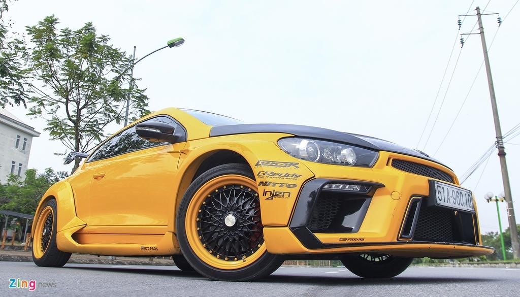 Volkswagen,  Scirocco,  widebody,  xe do anh 7