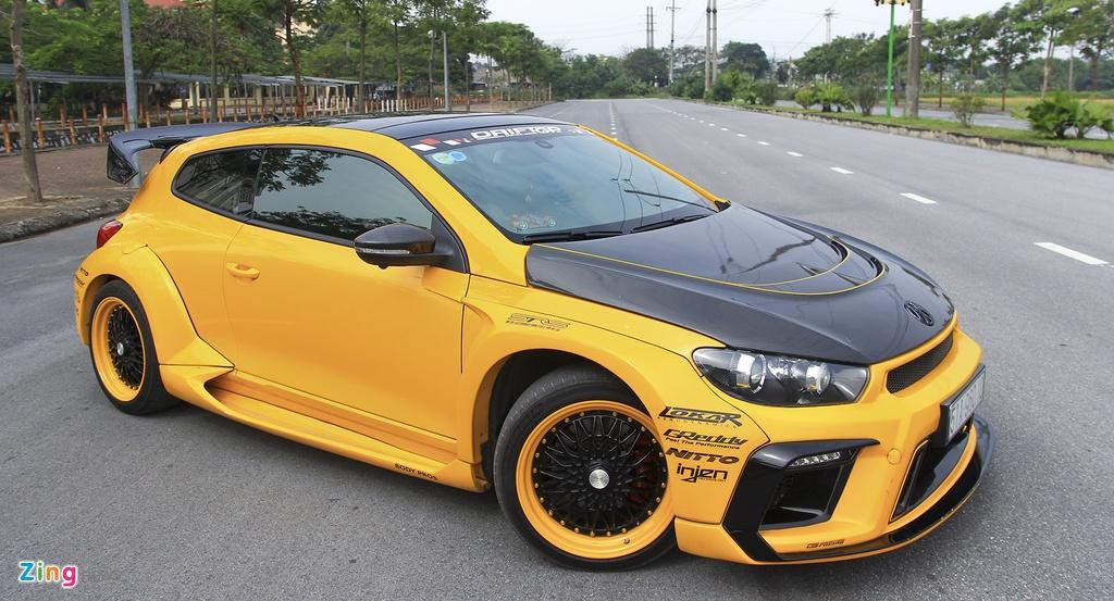Volkswagen,  Scirocco,  widebody,  xe do anh 6