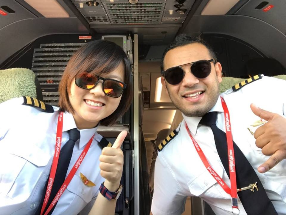 Tu co giao tieng Anh thanh nu phi cong Vietjet hinh anh 5