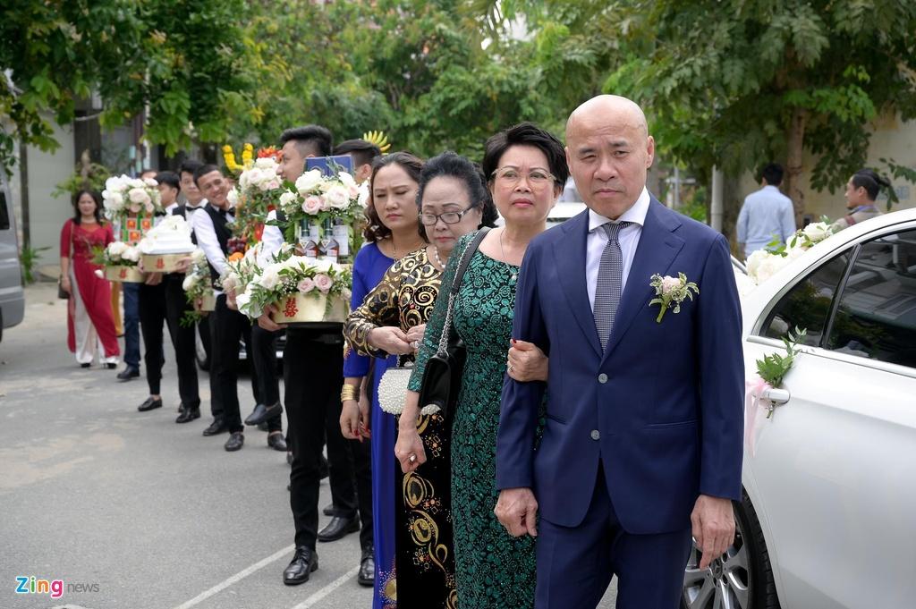 Sara Luu xinh dep, Duong Khac Linh hoi hop trong le ruoc dau hinh anh 12