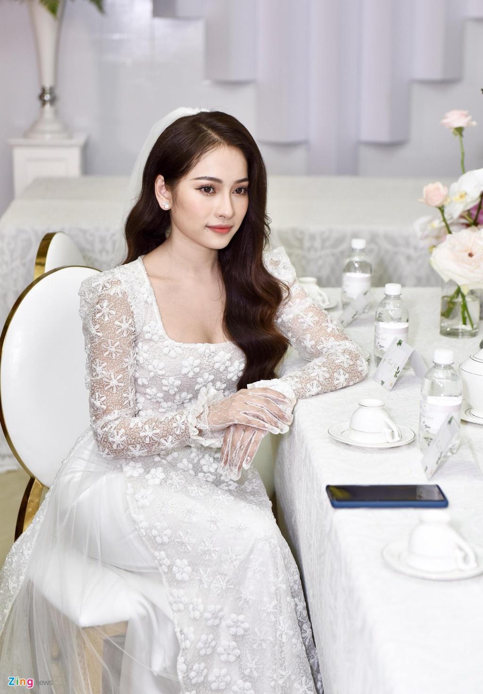 Sara Luu xinh dep, Duong Khac Linh hoi hop trong le ruoc dau hinh anh 5